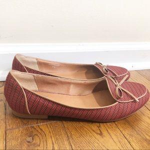 Dolce Vita Herringbone Loafers Slip On Flats